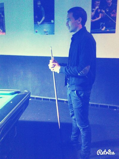 Playing Billard