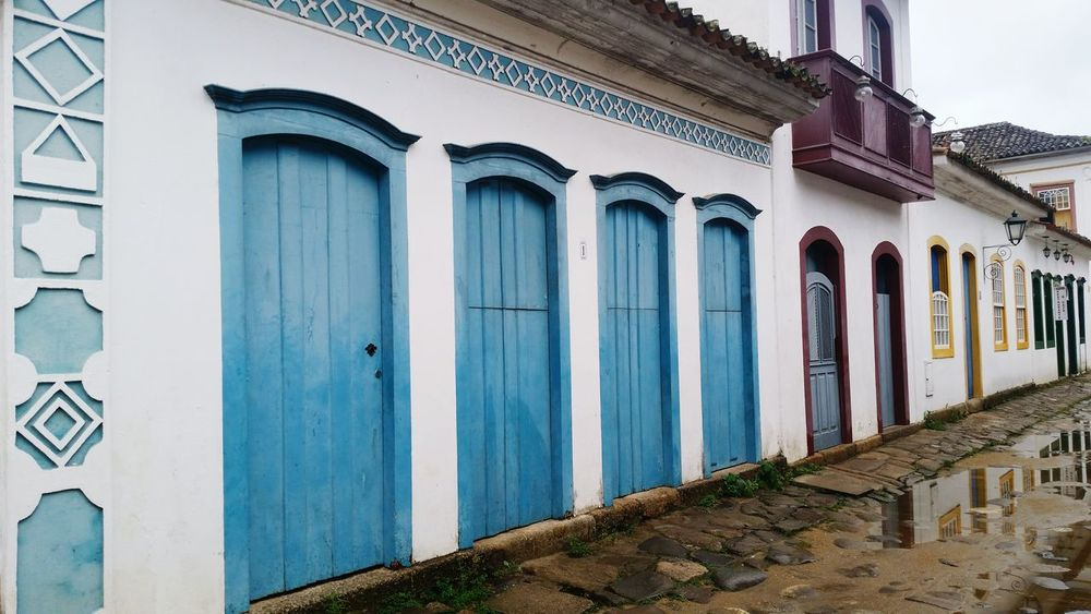 Architecture History Town Doors Colors Paraty - RJ Brazil