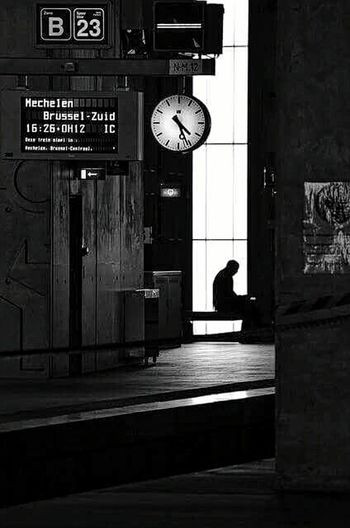 Going home Train Station Urban Life Urbanphotography Black And White B&w Photography