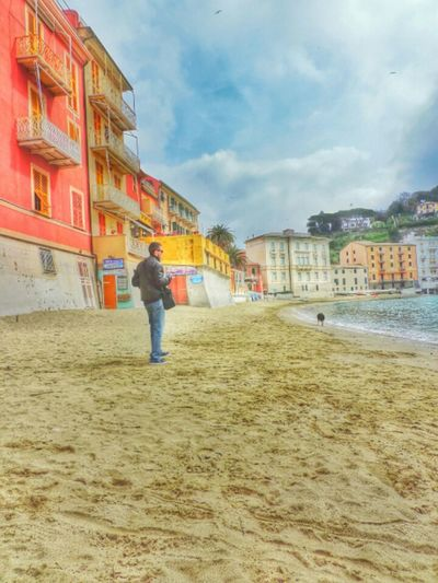 Taking Photos Sestri Levante Baia Del Silenzio Liguria