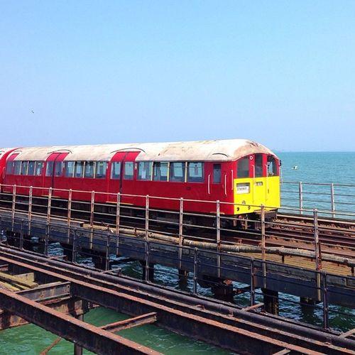 London #tube on Sea? Nope, it's one #IsleOfWight Island Line Trains and yes, the do use old #London #underground trains ?☀️???☀️#aauk #allshots_ #sea #britishsummer #capture_today #englishchannel #gi_uk #gf_uk #gang_family #ig_england #o2travel #summer #Y Ig_england Aauk Summer Capture_today Sea Yourturnbritain Englishchannel Underground Isleofwight Tube Royalisland London Gang_family Britishsummer Allshots_ Gf_uk O2travel Gi_uk
