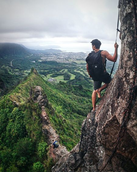 sometimes we spend so much time focused on getting to the top that we need to just stop and get Lost In The Landscape