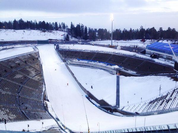 Holmenkollen national ski jump in Norway