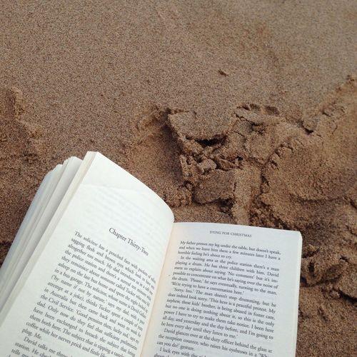 Book Beach Sand First Eyeem Photo