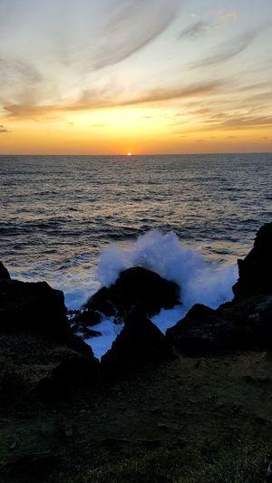 Sunset Ajaccio