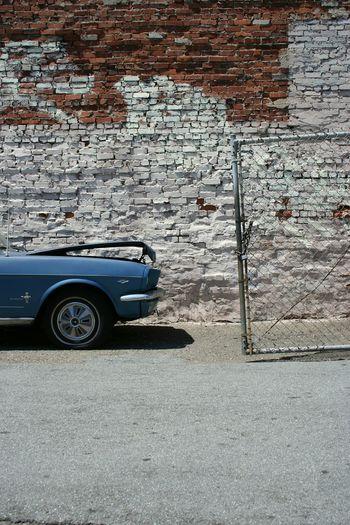 San Francisco Tenderloin Ford Mustang American Muscle