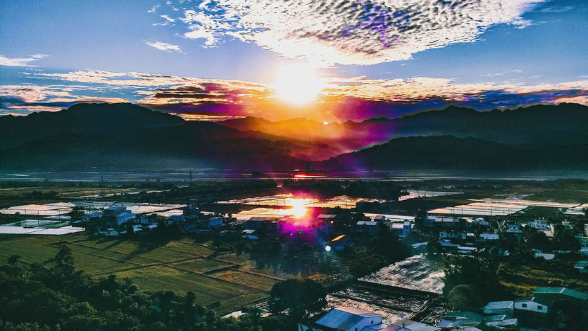 Be. Ready. Reflection Sky Colors Outdoors Landscape Nature Canon Sunlight Gem Resolution Goals Enlightenment Live Authentic Realization Bucketlist Journey Hot Air Balloon Destination Paddyfield Sunrise Adventure Experience Roadtrip HikeNhype EyeEmNewHere