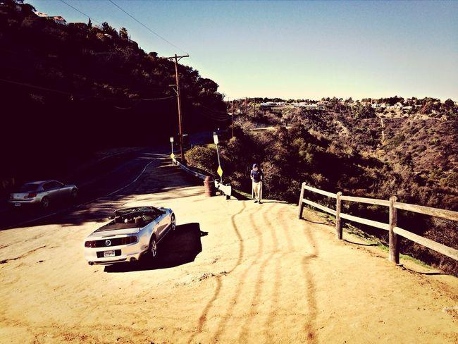 Enjoying The Sun Enjoying Life L.A. USA