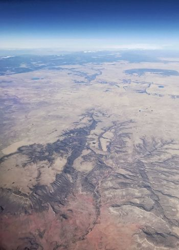 Desert drainage. Western USA Arid Landscape Canal River System Drainage Desert Colors Desert Geology Aerial View Landscape Nature Scenics Beauty In Nature Tranquil Scene Outdoors Physical Geography The Natural World View Into Land Arid Climate Sky