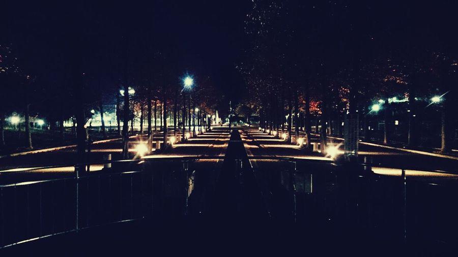 Park Life Taking Photos Walking Around Night View date♡