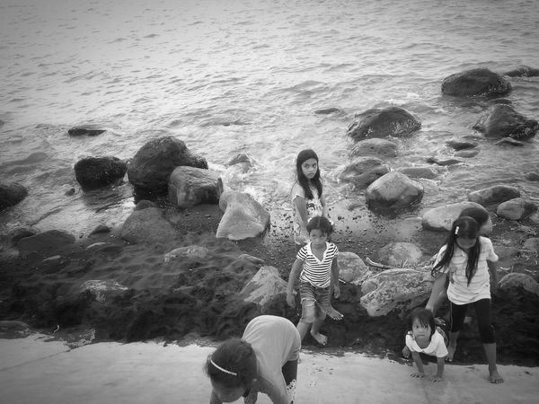 Purity EyeEm Best Shots - Black + White EyeEm Best Shots - People + Portrait Eyeem Philippines It's A Thousand Storys Behind This One Smile :)