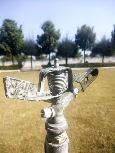 Sprinkler System In Garden Of The Gods Nature Sky Close-up