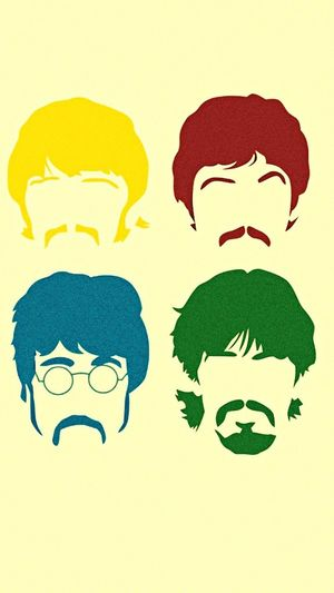 The Beatles John Lennon Paul Mccartney George Harrison Ringo Starr