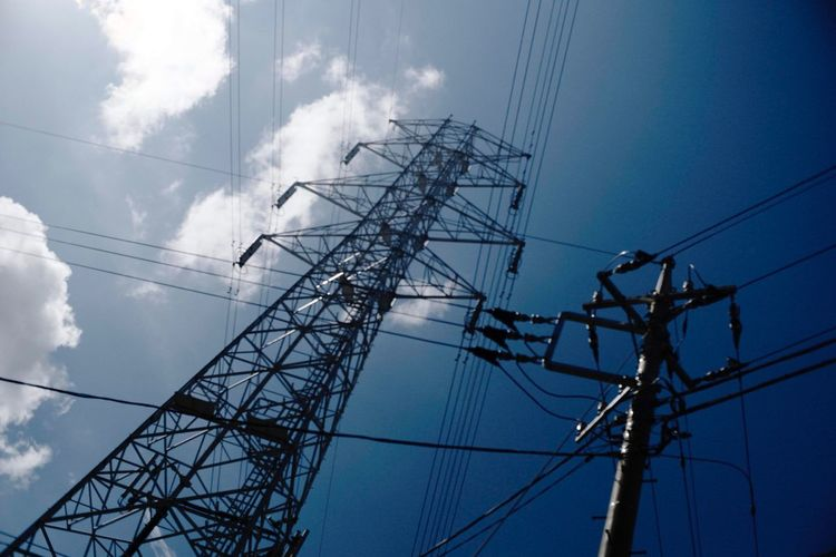 EyeEm Selects Cable Electricity  Power Supply Low Angle View Sky Fuel And Power Generation