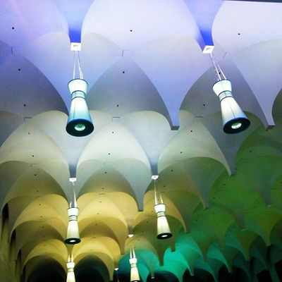 Colourbound Ceiling Architecture Makk Yorkdale Toronto