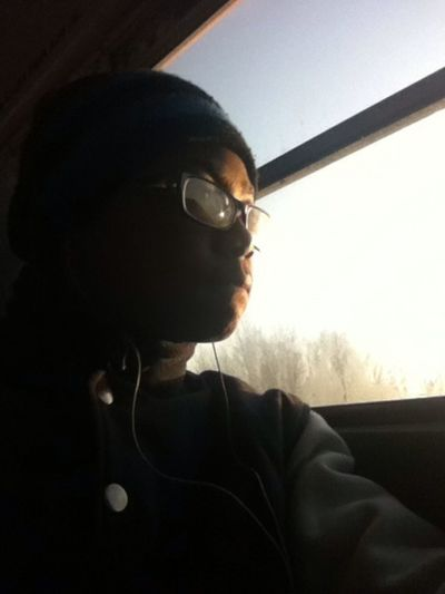 Was on ma way to school