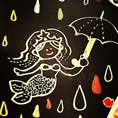 Starbucks みなとみらいに可愛いSirenが居た。 Sirens Yokohama-shi #Siren #starbucks #みなとみらい