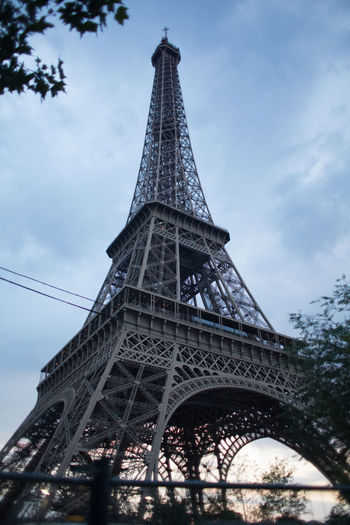 the eiffel tower Eiffel Tower EyeEm Best Shots Arch Architecture Building Exterior Built Structure City Cloud - Sky Day History Iron Iron - Metal Low Angle View Metal Nature No People Outdoors Place Sky Tall - High The Past Tourism Tower Travel Travel Destinations