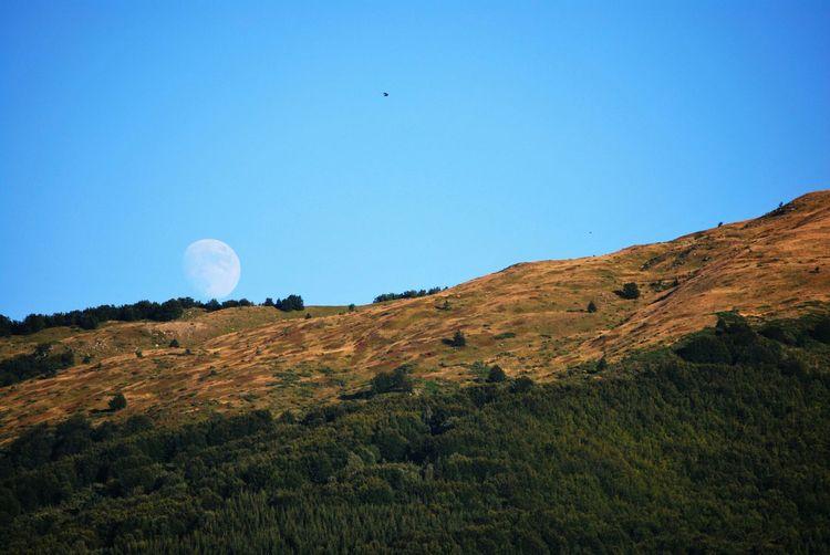 Moon on Monte Nuda