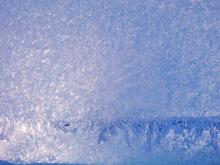 Full frame shot of frozen sky