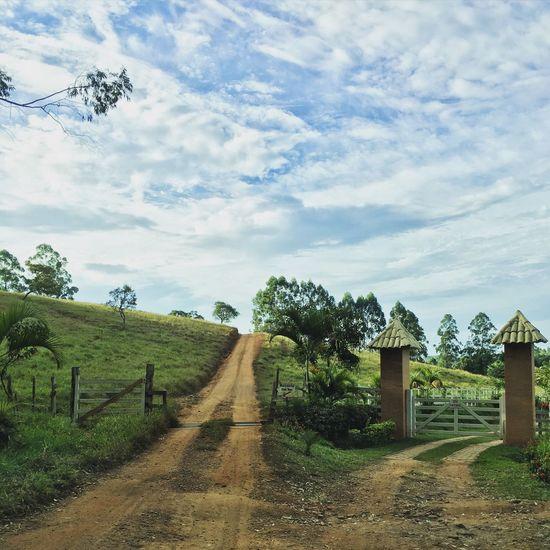 Countryside Country Life Country Road Blue Sky Brazil Minas Gerais EyeEm