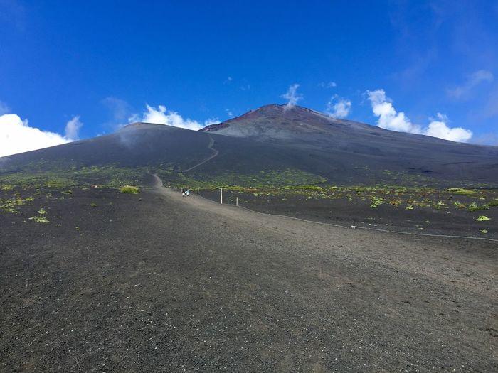 O-sunabashiri Mt.Fuji Gotenba trail 御殿場ルート 大砂走り 富士山
