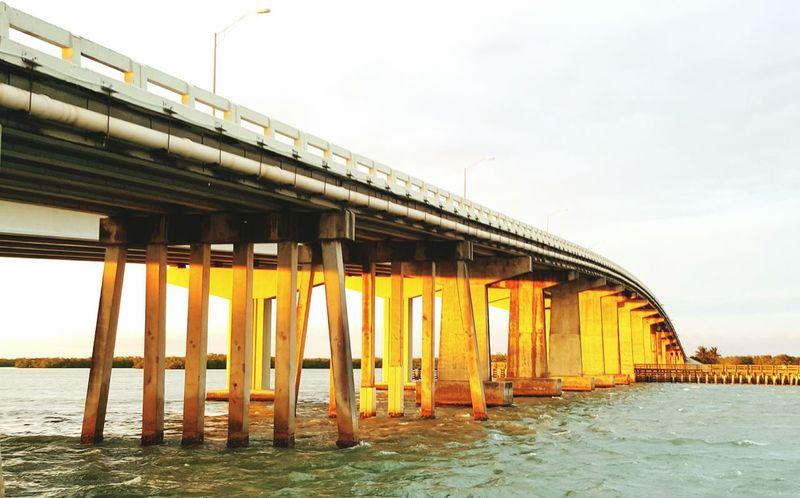 Sunset on a bridge Marco Island Jolley Bridge Sunset On A Bridge Bridge Sunsets
