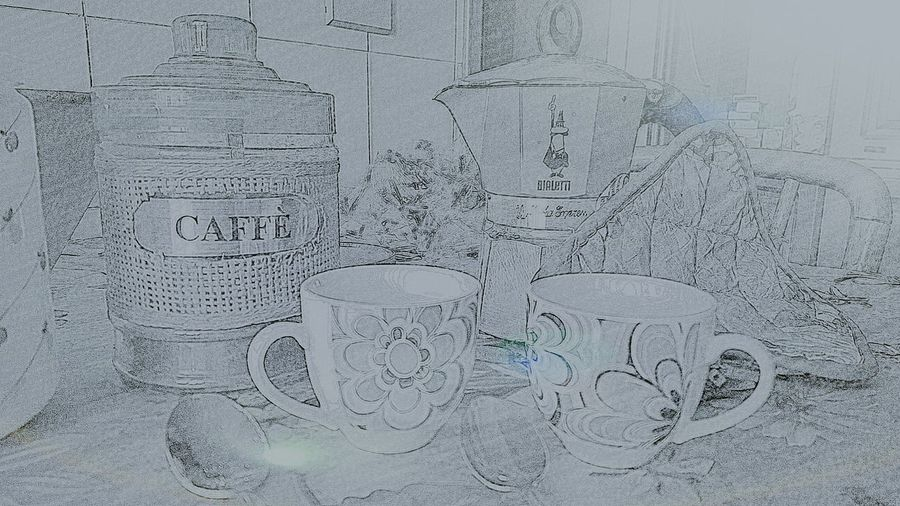 Caffee☕ Caffe Time Italy🇮🇹 Espresso Espresso❤ Home Bialetti Coffee Makers Bialettishop Bianco&nero Blackandwhite Coffee Time Coffee At Home EyeEmNewHere