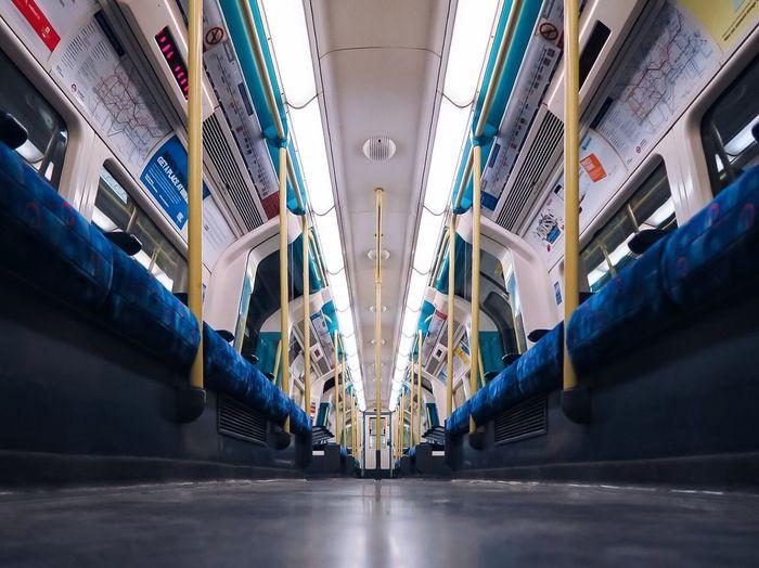 Empty Notes From The Underground Public Transportation Killtheunderground Killthelondonunderground Tube London Subway VSCO Check This Out Taking Photos