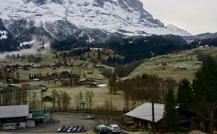 Grindelwald Jungfrau - Top Of Europe 🇨🇭 Switzerland Landscape Traveling Architecture Landscape_photography Autumn Collection Interlaken Green Green Grass Of Home