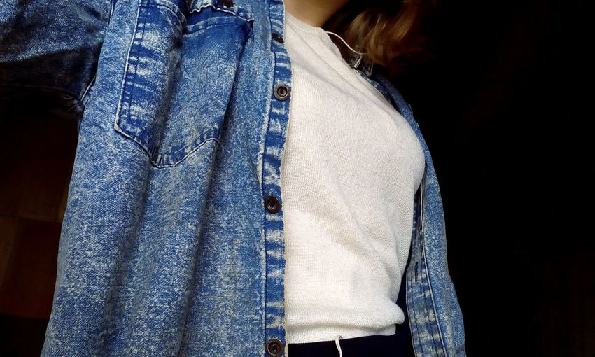 Jeans Blue Day Casual Clothing 🐯✨🍒
