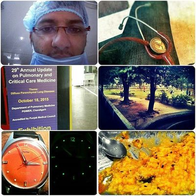 Life this week.. Pgicampus Medicalschool Chandigarh Dmlife Watchlover Watchporn HMT Foodie Cme Stethoscope  Barber Life Personal Weekend