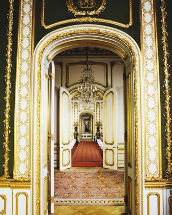 Gold Colored No People Indoors  Day Lancaster House Elegant Ballroom Corridor Travel Destinations Tourism Life Royal Architecture Door