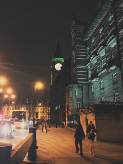 Night Architecture Illuminated City Building Exterior Built Structure Sky Christmas Tree Clock Tower Christmas Christmas Decoration Clock Outdoors No People london