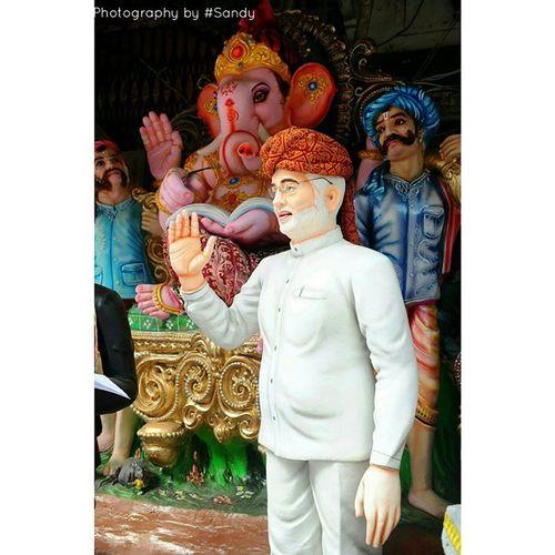 Instaclick Modi Ganeshidol Spotted Hubli ???