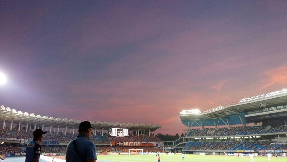 Evening Glow EyeEm Japan 空マニア Football Stadium Soccer 最高の週末!