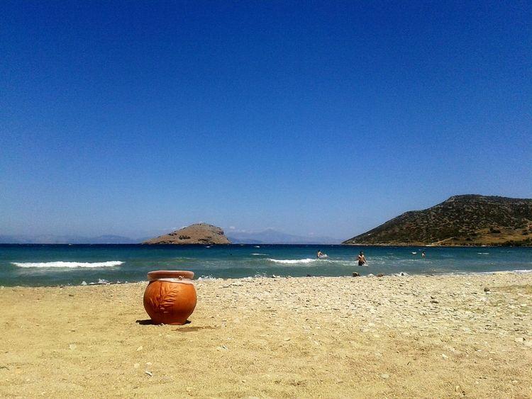 Sea And Sky Sea Bleu Sky Blue Sea And Blue Sky Blue Sea Sand & Sea Sand Summer Summeringreece Portorafti