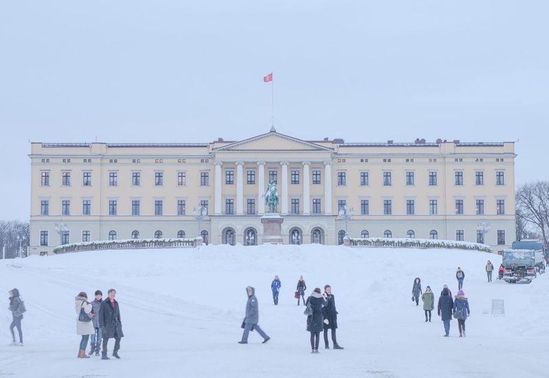 Oslo Royalcastle The Tourist