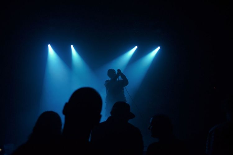 view Music Arts Culture And Entertainment Performance Event Nightlife Enjoyment Stage - Performance Space Stage Audience Stage Light Silhouette Light