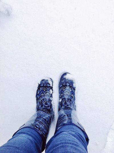 Winter Wonderland Rain Boots Bluetastic Snowday Snowy Days...