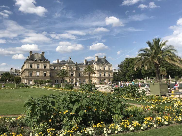 Paris Le Jardin Du Luxembourg