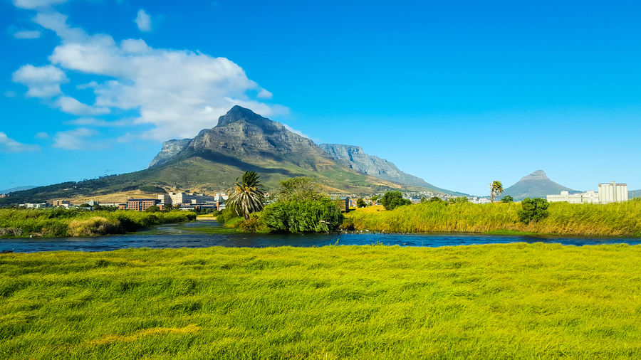 Table mountain - a different perspective Travel Destinations Tourism Cultures Travel Sky Mountains Panoramic Beauty Mountain Outdoors No People Landscape Vacations Scenics Beauty In Nature Photography Eyemphotography Nature Beauty In Nature Nature_collection EyeEm Best Shots Hello Hello World Photooftheday EyeEm Nature Lover