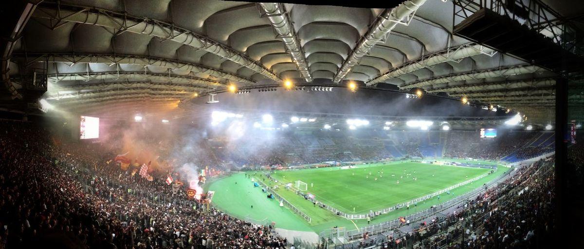 Enjoying Life City Life Rome Morethenfootball ASRome Italianfootball Nikefootball Stadioolimpico