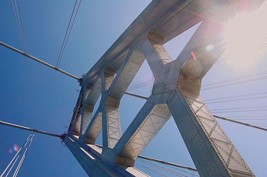 Oakland Bay Bridge Sunlight California Love Adapted To The City