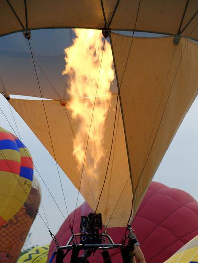 Hot Air Balloons Fire