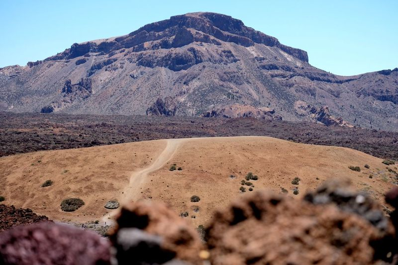 Hiking trails in Tenerife - Teide National Park Above Clouds Landscape Volcano Adventures Hiking Volcanic Landscape Teide National Park Mountain Sky Scenics - Nature Land Tranquil Scene Beauty In Nature Tranquility Nature No People Stay Out