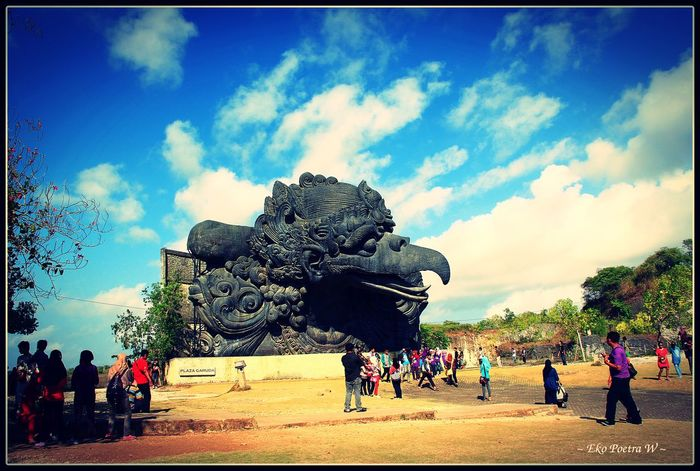 Part of Garuda Wisnu Kencana @Bali, Indonesia