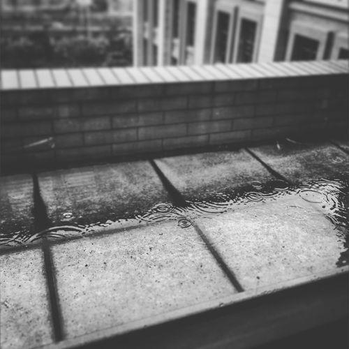 一直下雨,持续大半个月了