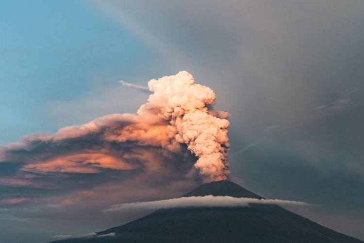 Active Volcano Air Pollution Beauty In Nature Cloud - Sky Day Emitting Environment Erupting Geology Land Mountain Mountain Peak Nature No People Non-urban Scene Outdoors Pollution Power Power In Nature Scenics - Nature Sky Smoke - Physical Structure Volcanic Crater Volcano