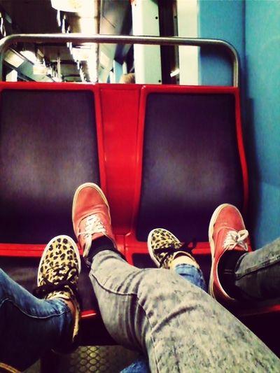 Metro Lumiar Vans Love My Baby Boy And I!!❤